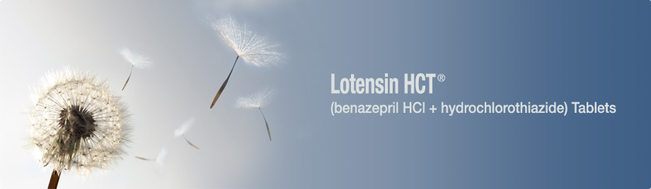 Lotensin HCT